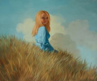 Girl on a Hill